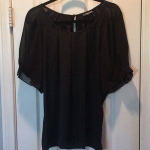 Express silk blouse